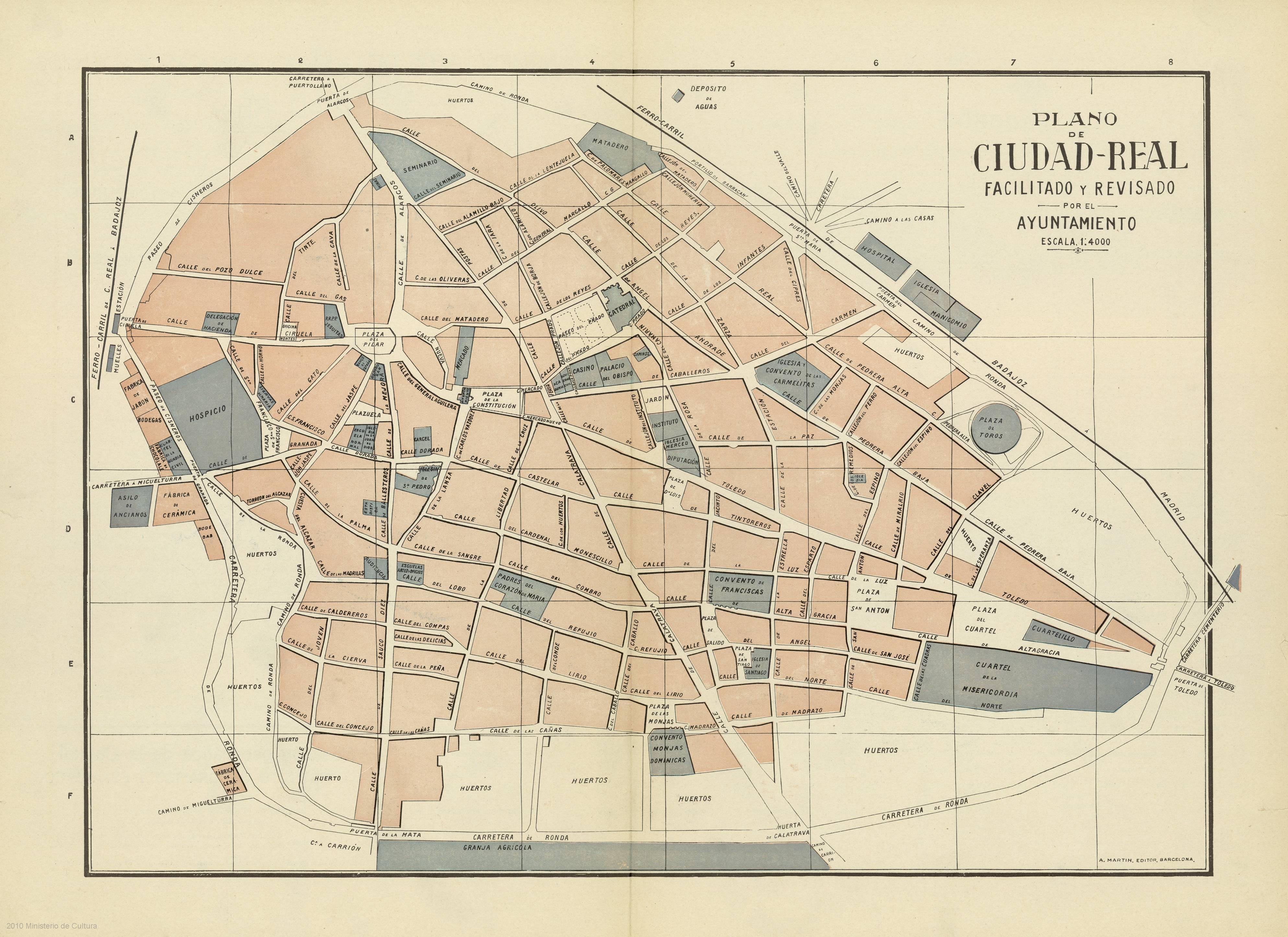 Bvpb b squeda sencilla plano de ciudad real at 16b 35 - Plano de ciudad real ...