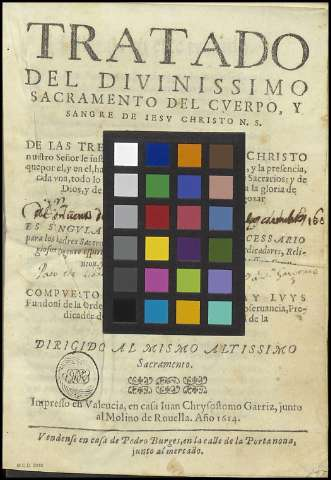 CARTA DE COLOR